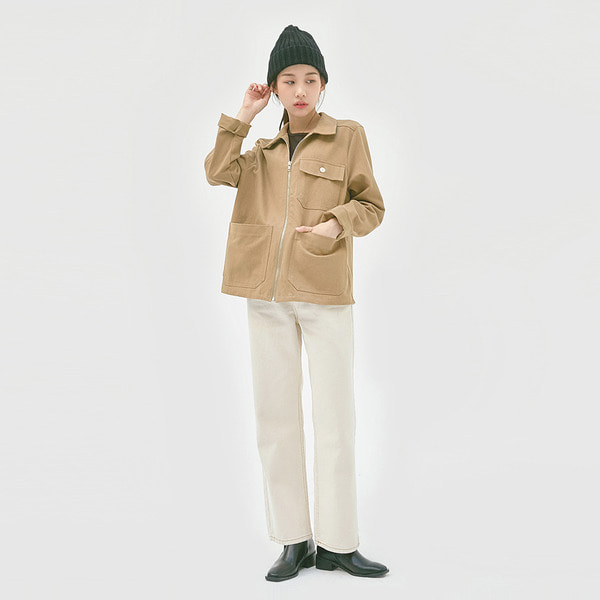 Boy fit washing cotton jacket 패션쇼핑몰 모스빈(Mossbean)