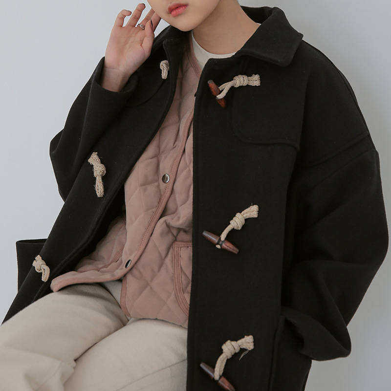 Over-fit duffle coat 패션쇼핑몰 모스빈(Mossbean)
