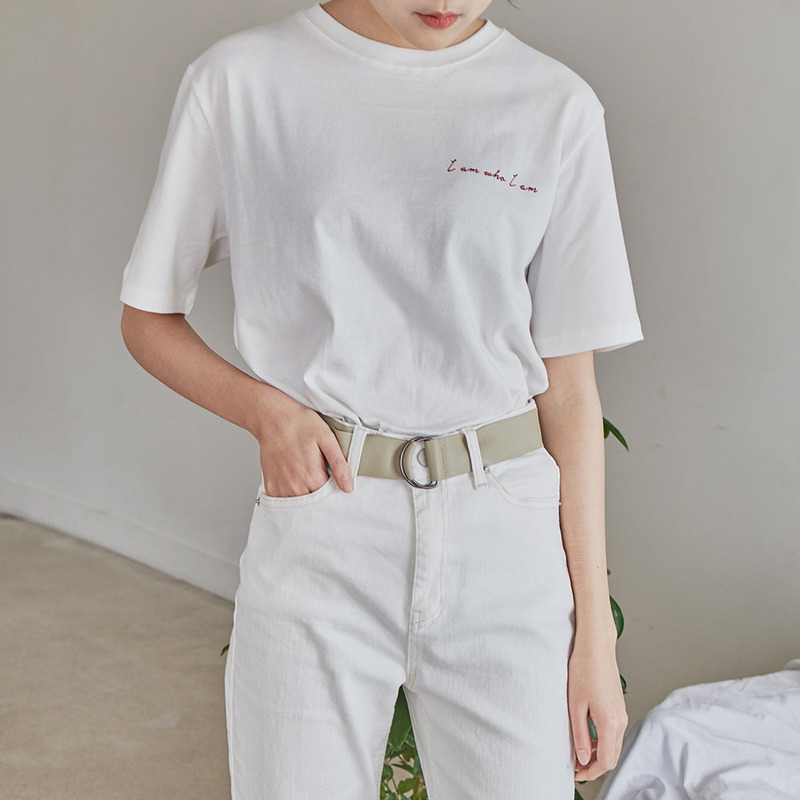 You letter t-shirts 패션쇼핑몰 모스빈(Mossbean)