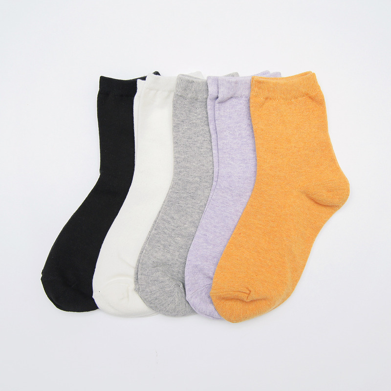 Essential cotton socks-모스빈