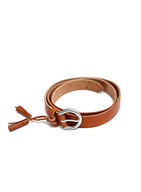 tassle point leather belt 패션쇼핑몰 모스빈(Mossbean)