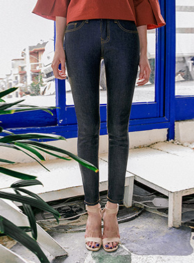 coating skinny denim pants 패션쇼핑몰 모스빈(Mossbean)