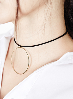 gold ring choker necklace 패션쇼핑몰 모스빈(Mossbean)
