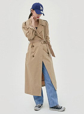 Standard long trench coat 패션쇼핑몰 모스빈(Mossbean)