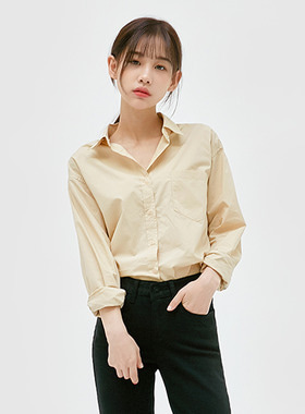Light basic casual shirts 패션쇼핑몰 모스빈(Mossbean)
