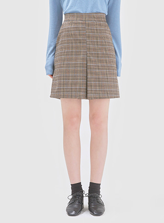 Classic autumn check skirt 패션쇼핑몰 모스빈(Mossbean)