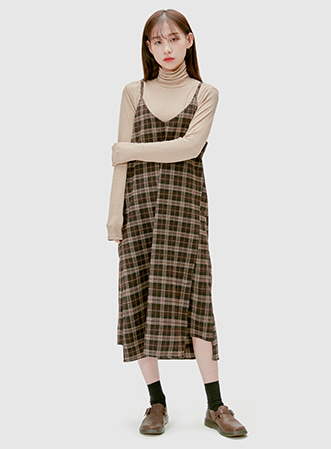Vintage check sleeve ops 패션쇼핑몰 모스빈(Mossbean)