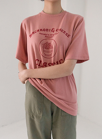[무료배송] Cheese tension t-shirts-모스빈
