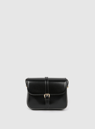 [무료배송] Single buckle shoulder bag-모스빈