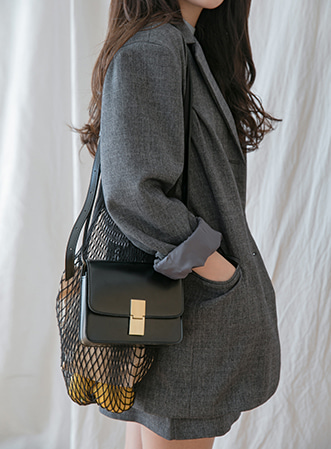 [무료배송] Classical shoulder bag-모스빈