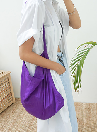 [무료배송] Color daily shoulder bag-모스빈